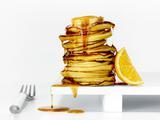Lemon Cream Pancake Puffs