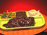 HDTV Salisbury Steak Dinner