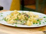 Fried Calamari, Italian Hot Green Peppers with Lemon Aioli