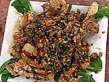Wok-Fried Dungeness Crab