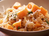 Creamy Baked Pumpkin Risotto