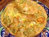 Shrimp Frittata: Frittata coi Gamberetti