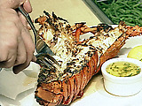 Herb-grilled Spiny Pacific Lobster
