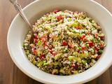 Bulgur Salad with Green Onion Vinaigrette