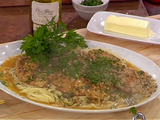 Veal Piccata with Angel Hair and Parmigiana-Reggiano