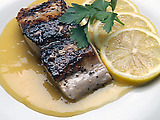 Mahi-Mahi with Orange Beurre Blanc Sauce