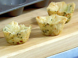 Mini Phyllo Cups for Shrimp Salad