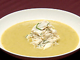 Colossal Crab Asparagus Bisque