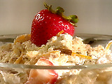Ricotta and Candied Fruit Semifreddo