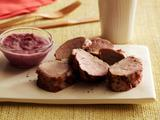 Pork Tenderloin with Prickly Pear Tequila BBQ Sauce