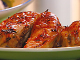 Roasted Chicken with Smokey Orange Sauce