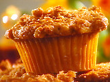 Cranberry Walnut Crumb Cakes