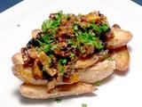Flank Steak with Twice Baked Fingerling Potatoes