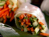 Summer Rolls with Ginger Dipping Sauce