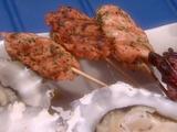 Salmon Kefta Kebabs