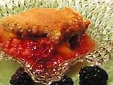 Peach-Blackberry Cobbler