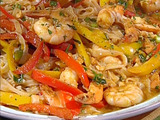 Spicy Red Curry Braised Shrimp
