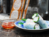 Soft Rice Paper Rolls with Prawns and Pork: Goi Cuon