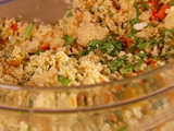 Carrot and Almond Couscous