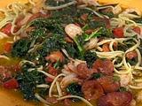 Emeril's Portuguese Shrimp and Pasta