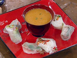 Emeril's Cochon De Lait Spring Rolls with Satsuma-Honey Mustard Dipping Sauce