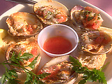 Barbecued Buffalo Clams