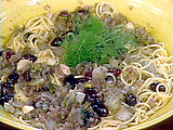 Spaghetti with Endives and Anchovies