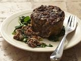 Veggie Meatloaf with Mushrooms and Sun-Dried Tomatoes