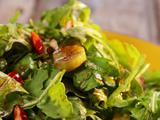 Crunchy Salad with Cocoa Vinaigrette