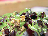Beet Salad with Watercress Drizzle