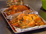 Roasted Chickens Two Ways