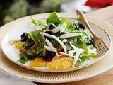 Sliced Orange Salad with Sauteed Olives and Ricotta Salata