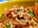 Corn and Carrot Salad with Golden Raisins