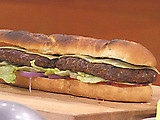 Italian Hamburger Slices