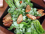Hearts of Romaine with Spicy Garlic Ranch Dressing