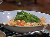 Spaghetti Oreganata with Tomato Sauce