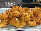 Zucchini and Shrimp Fritters