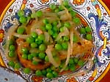 Peas with Ham: Piselli al Prosciutto