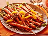 Carrots with Orange-Hazelnut Vinaigrette
