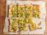 Smoked Gouda and Leek Tart