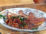 Veal Roll with Meatball Ragu: Braciole al Sugo con Polpette