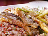 Pan-Fried Trout with Black-Eyed Pea Salad