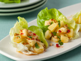 Spicy Thai-Style Pineapple Wraps