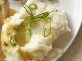 Mashed Potatoes With Horseradish and Scallions