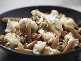 Sicilian-Style Cauliflower with Whole Wheat Pasta