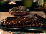 Honey-Mustard Glazed Ribs in Oven and Broiler