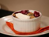 Blueberry-Nectarine Crisp