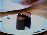 Chocolate Mousse in Collars