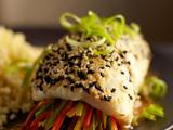 Sesame Seared Alaska Sole Roll