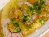 Veal with Applesauce and Polenta: Vitello con Mele